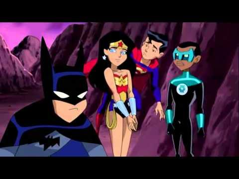 Kid Batman x Kid Wonder Woman  (Justice League)HD