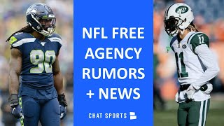 NFL Free Agency Tracker: Latest Signings + Rumors On Robby Anderson, Jadeveon Clowney & Trade Rumors