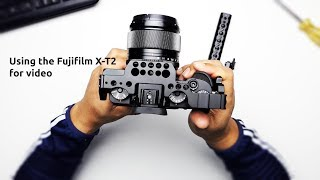 USING THE FUJIFILM X-T2 FOR VIDEO PRODUCTION. 4 REAL WORLD PROS AND CONS OF THIS MIRRORLESS CAMERA