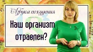 Очищение организма: наш организм отравлен? Источники токсинов. 1 часть (Азбука похудения)