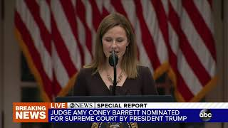 Trump Supreme Court Justice nominee announcement 2020: Justice Ginsburg replacement revealed