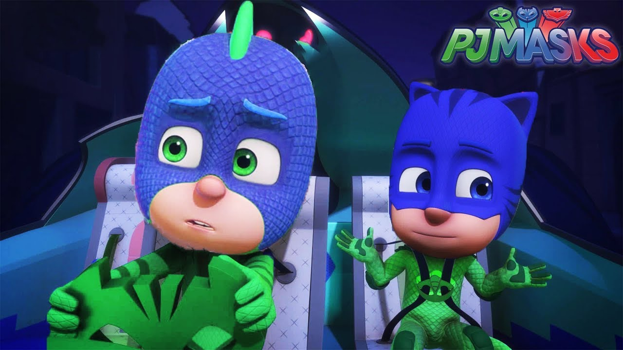 Pj Masks Heroes Catboy Gekko Owlette Head And Color Swap