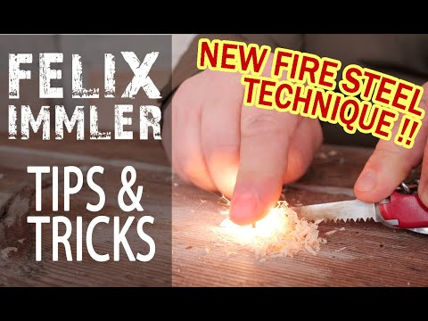 The more effective way to use your fire steel - The FireAnt Technique - SAK Tips & Tricks  (37/40)