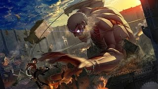 Armored titan theme from Shingeki no kyojin OST (Mika Kobaya...