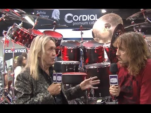 Are Iron Maiden putting out a new album? hear what Nick McBrain says from NAMM 2020