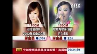 謝金燕同父異母妹謝金晶 (2013/11/15)
