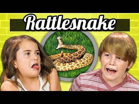 KIDS vs. FOOD - RATTLESNAKE