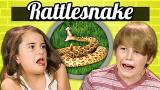 KIDS vs. FOOD - RATTLESNAKE