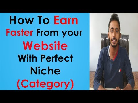 How to choose perfect Niche(Category) for your Website to Earn Faster!