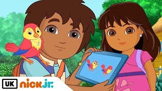 Dora and Friends | For The Birds | Nick Jr. UK