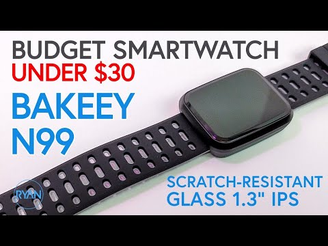 Bakeey N99 Smartwatch Review (SUPER CHEAP!) 2019 - New