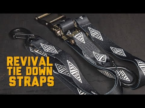 Revival Signature Tie Down Straps