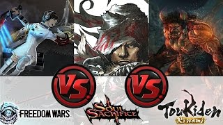 Freedom Wars vs. Soul Sacrifice Delta vs. Toukiden Kiwami: Whats the Best Hunter on the PS Vita?