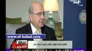 بالفيديو.. رئيس وزراء الأردن السابق: الإرهاب تحد كبير يواجه الأمة العربية