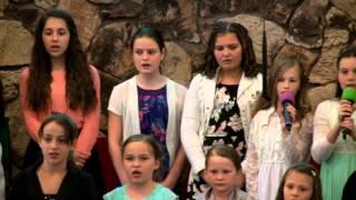 Пасха 3.27.2016 вечернее служение - дети