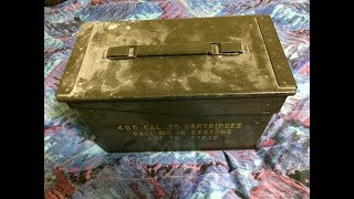 I Found Thirty Year Old Cigars in an Old Ammo Box!!  (Pt 1)