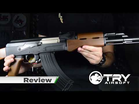 AK47 FIBRA DE NYLON Review e Unboxing - Try Vendas