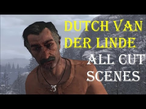 Red Dead Redemption Stories: Dutch Van Der Linde - All Cut Scenes