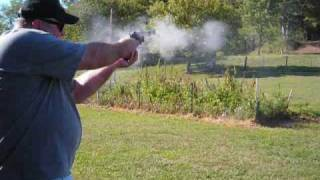 Backyard Fun with Firearms - short barrel .38 cal