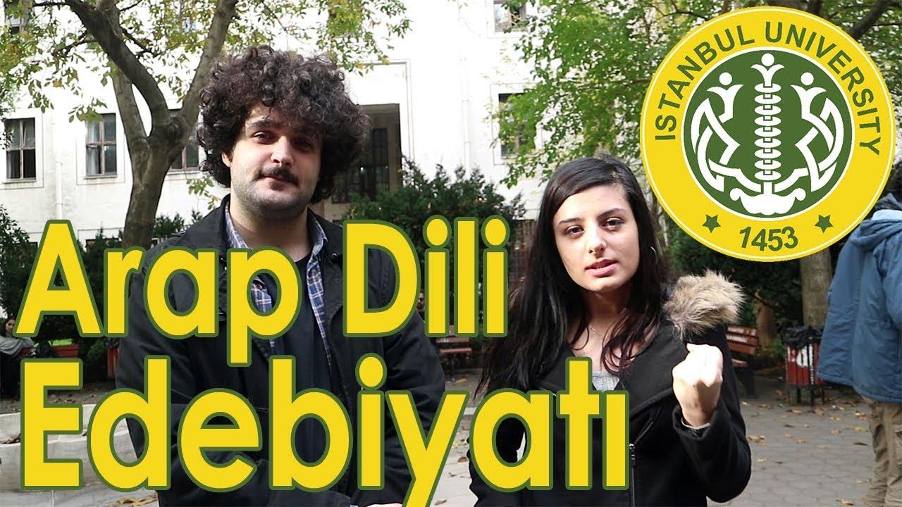 İstanbul Üniversitesi arap dili ve edebiyatı - youtube