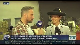 BFMTV Ecole Royale d'Art Equestre