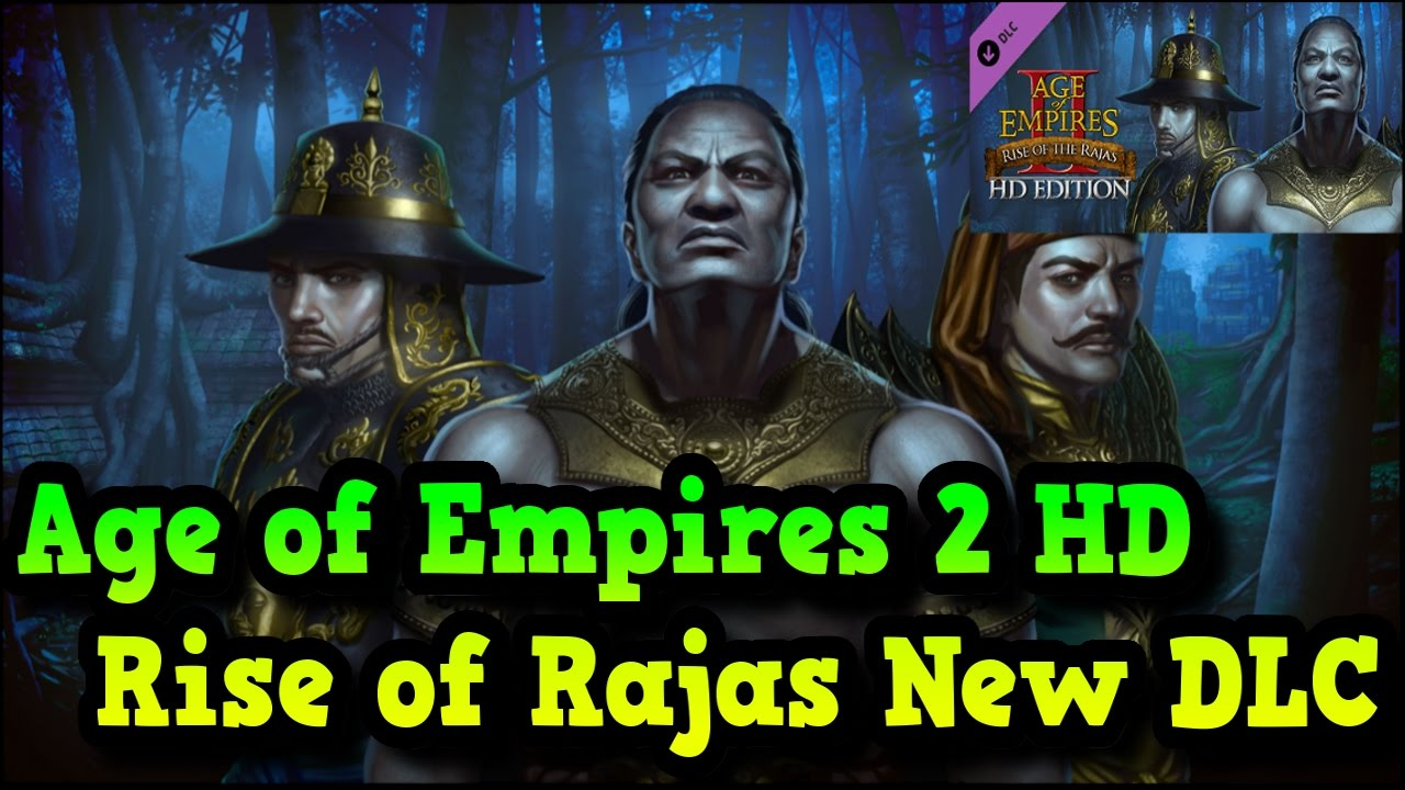 Age of Empires 2 HD Rise of The Rajas New Expasion DLC Steam AoE2HD  Gameplay PT BR