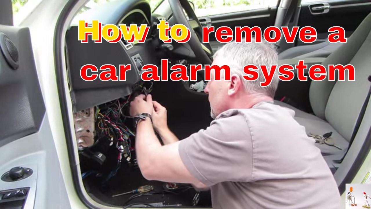 medium resolution of tips for removing a car alarm system