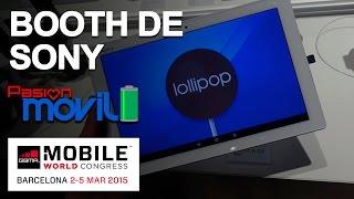 Booth de Sony en el Mobile World Congress 2015!