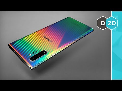Galaxy Note 10 - 💙💜❤️💛💚