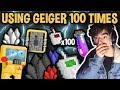 USING GEIGER COUNTER 100 TIMES!! [This Is What I Got...] | Growtopia