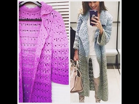 Вязание Крючком - Женские Ажурные Кофточки, Кардиганы 2019 / Knitting Crochet Blouses Cardigans