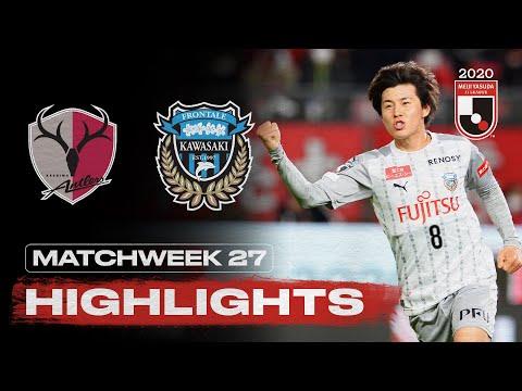 Kashima Kawasaki Frontale Goals And Highlights