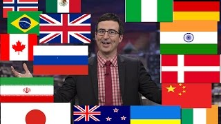 Watch How John Oliver Describes Countries (Compilation)