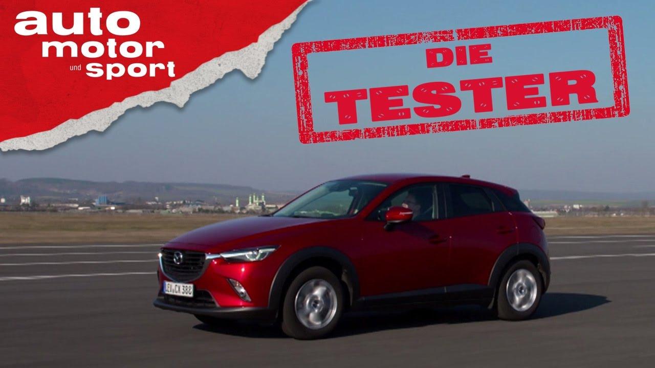 Mazda CX-3: Kleiner SUV mit 105 PS - Die Tester   auto motor und ...