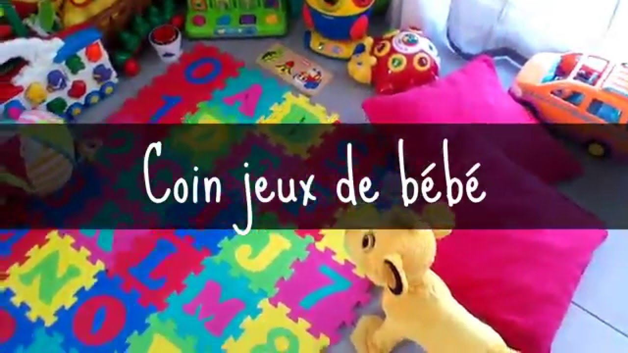 le coin jeux de b b youtube. Black Bedroom Furniture Sets. Home Design Ideas