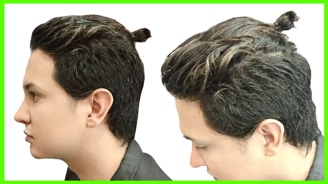 Peinado man bun chonguito peinados faciles para hombre - Peinados d hombre ...