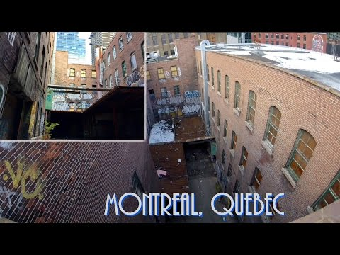 EXPLORING A ABANDONED BUILDING IN MONTREAL