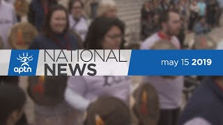 APTN National News May 15, 2019 – RCMP questioning reaction, Fire forecast, Manito Ahbee Festival