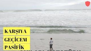 Pasifik Okyonusdan Karşıya Geçerim Diye Dener mi Ayşe Teyze / Los Angeles Sahilleri