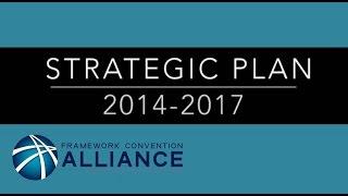 Framework Convention Alliance Strategic Plan