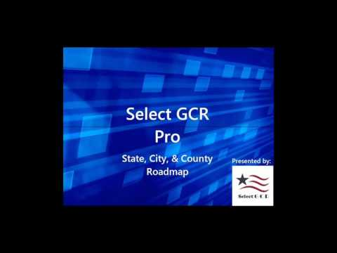 State, City, and County Roadmap