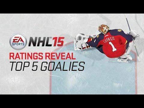 NHL 15 HUT: BEST GOALIES (Ratings Reveal)