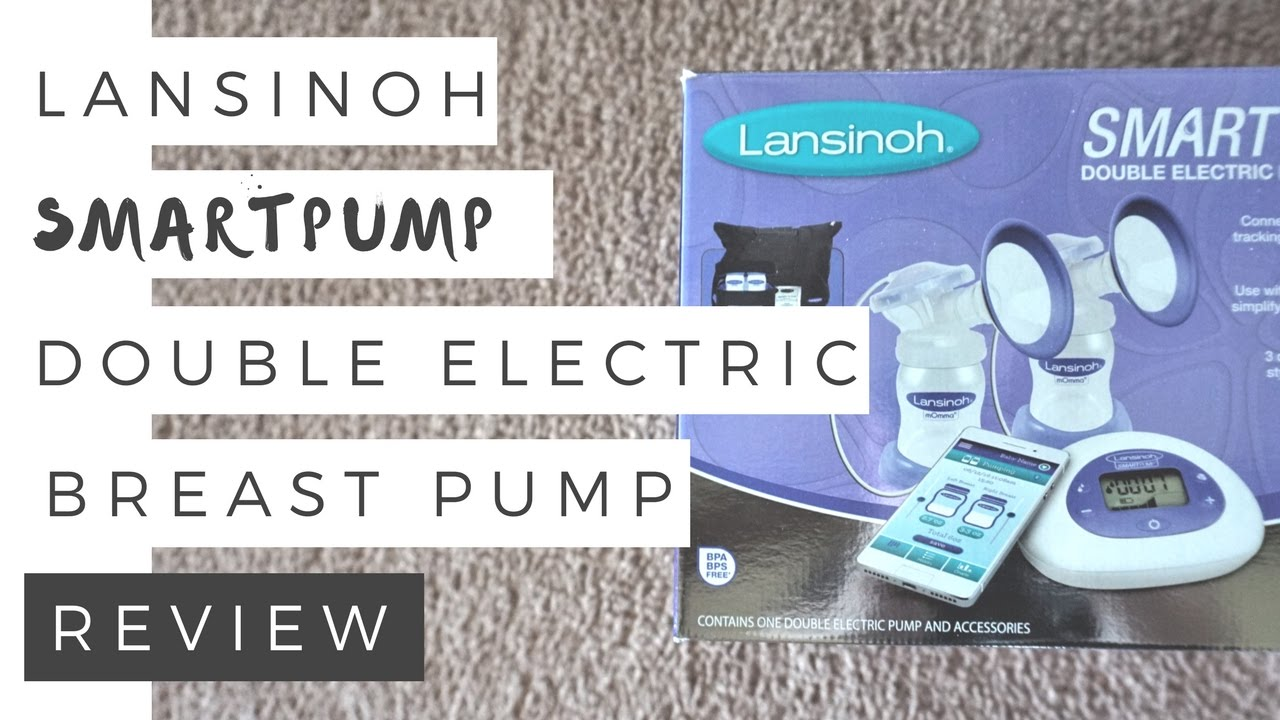 Lansinoh Smartpump Double Electric Breast Pump Review Momma