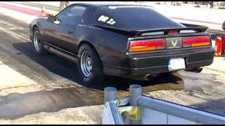 Pontiac Trans AM GTA VS 4Gen Pontiac Firebird drag race