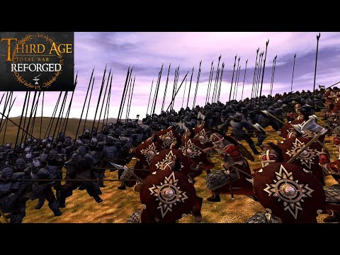 ISENGARDS INVASION OF THE RIDDERMARK (Battle Replay) - Third Age: Total War (Reforged)