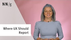 Where Should UX Report: Centralized, Product, or Somewhere else?