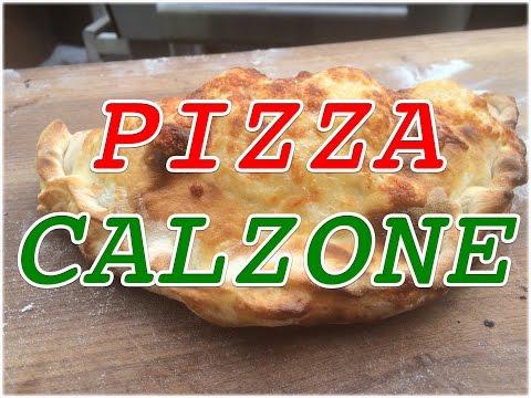 Pizza Calzone wie aus der Pizzeria selbst gemacht  / Anleitung — Klaus grillt