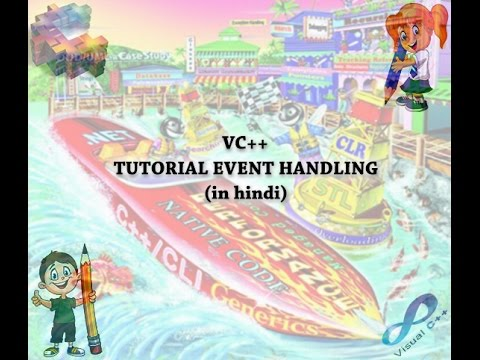 VC++ Tutorial Event Handling (IN HINDI)-3