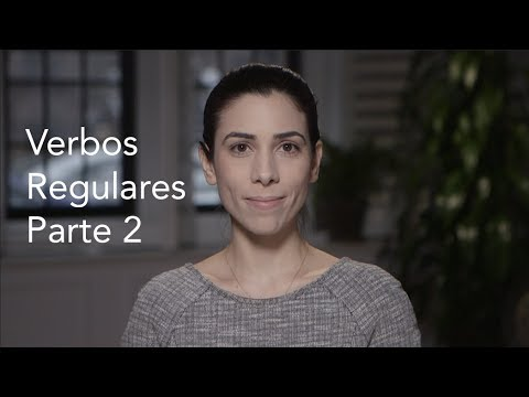 How to Conjugate Regular Verbs - Part 2