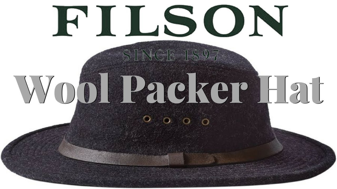 Filson Mackinaw Hat - YouTube 755bcb0b1cf